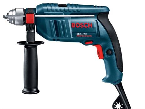 Δράπανο Κρουστικό Bosch GSB 16 RE (750W) ergaleia kataskeyes ergaleia reymatos drapana drapanokatsabida