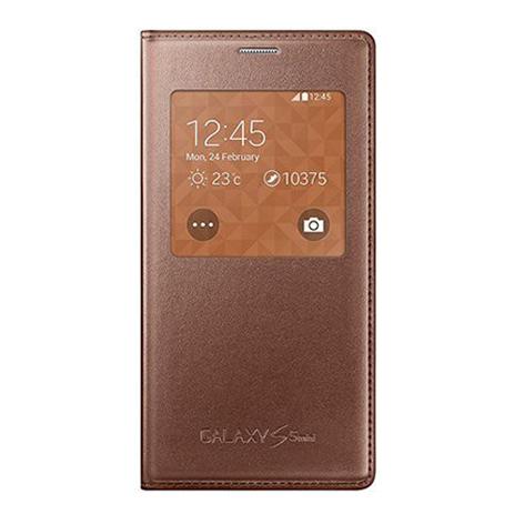 Samsung Original Flip S View for Galaxy S5 Mini Rose Gold (EF-CG800BF) hlektrikes syskeyes texnologia kinhth thlefonia prostateytikes uhkes