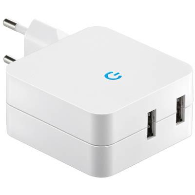 Universal Φορτιστής USB Με 2 Θύρες, Max 4200Mah 67930 ergaleia kataskeyes hlektrologikos ejoplismos trofodotika