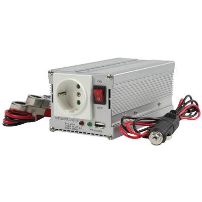 Inverter 12V - 300W και USB Για Μπαταρίες 12 V σε Αυτοκίνητα Και Σκάφη Θαλάσσης  ergaleia kataskeyes hlektrologikos ejoplismos gennhtries inverters
