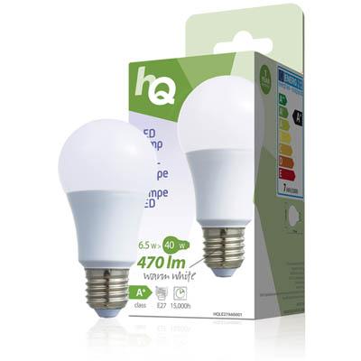 Λαμπτήρας Οικονομίας LED - Ε27 A60, 6.5W, Warm White, 15000 Ωρών Ενεργειακής Κλάσης Α+ LAMP HQL E27 A60001