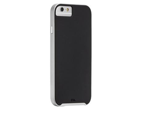 Case-Mate Slim Tough Cases for Apple iPhone 6 in Black/Silver (CM031392) hlektrikes syskeyes texnologia kinhth thlefonia prostateytikes uhkes