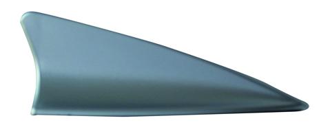 Κεραία Αυτοκινήτου Οροφής Shark Διακοσμητική TWN-JM6227S, Chrome paixnidia hobby aytokinhto mhxanh keraies aytokinhtoy