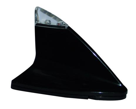 Κεραία Αυτοκινήτου Οροφής Shark Led Διακοσμητική Niken NKN-S5407BK aytokinhto mhxanh eikona hxos keraies aytokinhtoy