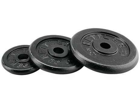 Kettler, Μεταλλικοί Δίσκοι 5kg (7371-730), 2τμχ paixnidia hobby organa gymnastikhs barh