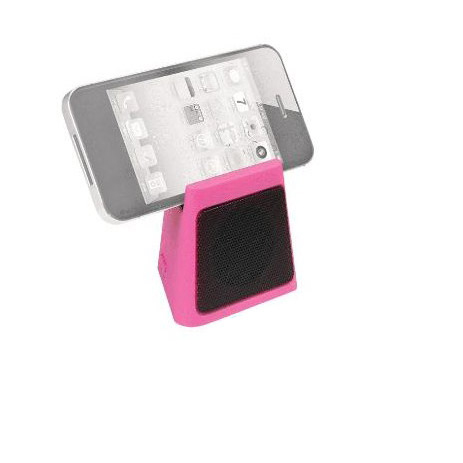 Mini Ηχείο Bluetooth Cube Heitech 05001637, Ροζ hlektrikes syskeyes texnologia perifereiaka ypologiston hxeia
