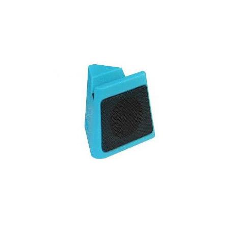 Mini Ηχείο Bluetooth Cube Heitech 05001637, Μπλε hlektrikes syskeyes texnologia perifereiaka ypologiston hxeia