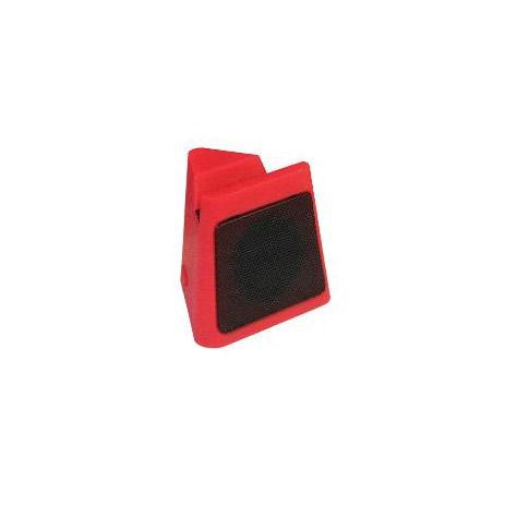 Mini Ηχείο Bluetooth Cube Heitech 05001637, Κόκκινο hlektrikes syskeyes texnologia perifereiaka ypologiston hxeia
