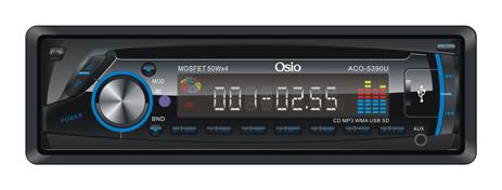 Ηχοσύστημα Αυτοκινήτου Osio ACO-5390U hlektrikes syskeyes texnologia eikona hxos hxosysthmata aytokinhtoy