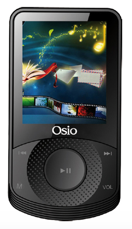 MP4 Player Osio SRM-8580B, Μαύρο hlektrikes syskeyes texnologia eikona hxos mp3mp4 player