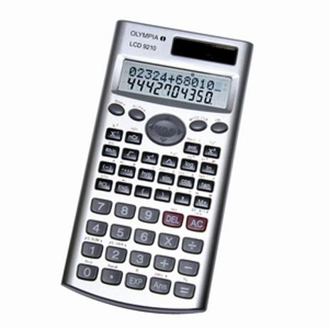 Επιστημονική Αριθμομηχανή Olympia LCD-9210 bibliopoleio eidh grafeioy ariumomhxanes