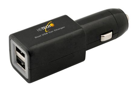 Φορτιστής Αυτοκινήτου με Διπλή Είσοδο USB Heitech 05001629 ergaleia kataskeyes hlektrologikos ejoplismos trofodotika