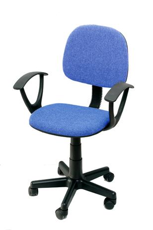 Καρέκλα Γραφείου με Μπράτσα Velco Κ08635-2, Μπλε