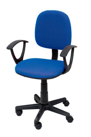 Καρέκλα Γραφείου με Μπράτσα Velco Κ04767-2, Μπλε