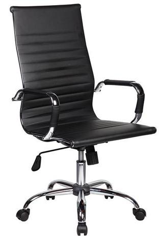 Καρέκλα Διευθυντική Velco 66-20064, Μαύρη