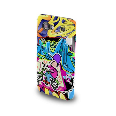 Θήκη Σιλικόνης Fashion Graffiti Bike για Samsung Galaxy Core 2 G355 hlektrikes syskeyes texnologia kinhth thlefonia prostateytikes uhkes