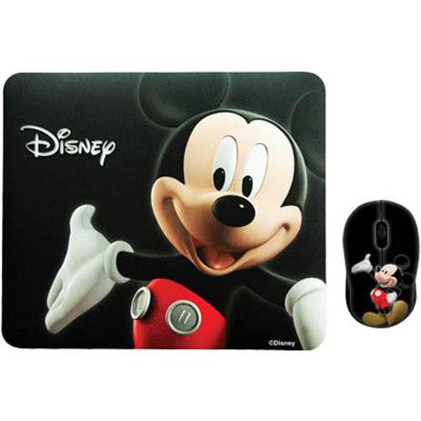 """Σετ Mini Ποντίκι & Mousepad """"Mickey 3D"""" Disney DSY TP3001 hlektrikes syskeyes texnologia perifereiaka ypologiston pontikia"""