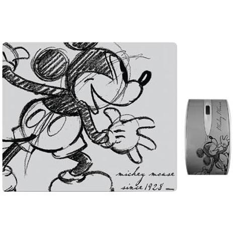 """Σετ Mini Οπτικό Ποντίκι & Mousepad """"Mickey Retro"""" Disney DSY TP3002 hlektrikes syskeyes texnologia perifereiaka ypologiston pontikia"""