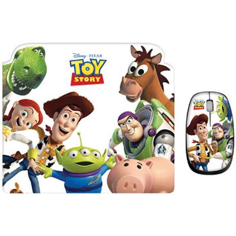 """Σετ Mini Ποντίκι & Mousepad """"Toy Story"""" Disney DSY TP8002 hlektrikes syskeyes texnologia perifereiaka ypologiston pontikia"""
