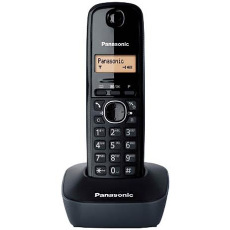 Ασύρματο Τηλέφωνο Panasonic KX-TG1611GRH, Μαύρο hlektrikes syskeyes texnologia stauerh thlefonia thlefona