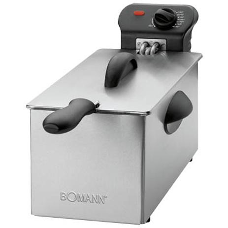 Φριτέζα Bomann FR 2264 Inox 3lt, 2000w hlektrikes syskeyes texnologia oikiakes syskeyes fritezes