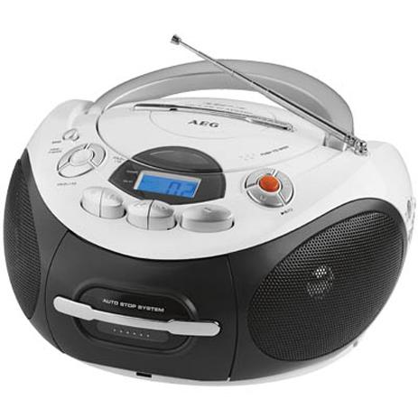 Φορητό Ραδιο-CD/ MP3 player AEG SR 4353 hlektrikes syskeyes texnologia eikona hxos radiocdhi fi