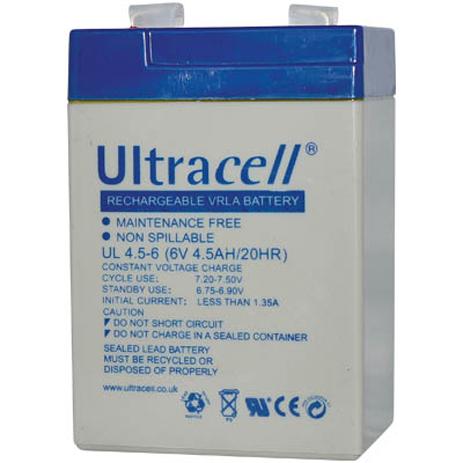 Μπαταρία μολύβδου Ultracell 6V 4.5 Ah hlektrikes syskeyes texnologia hlektrologikos ejoplismos mpataries