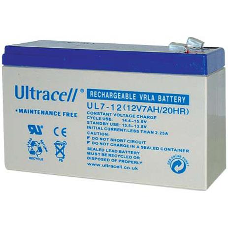 Μπαταρία μολύβδου Ultracell 12V 7Ah hlektrikes syskeyes texnologia hlektrologikos ejoplismos mpataries