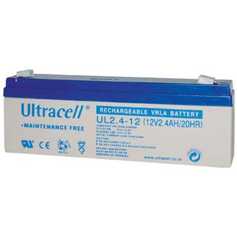 Μπαταρία μολύβδου Ultracell 12V 2.4Ah hlektrikes syskeyes texnologia hlektrologikos ejoplismos mpataries