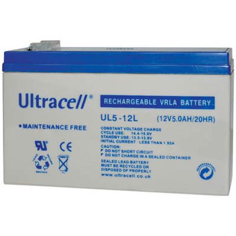 Μπαταρία μολύβδου Ultracell 12V 5Ah hlektrikes syskeyes texnologia hlektrologikos ejoplismos mpataries