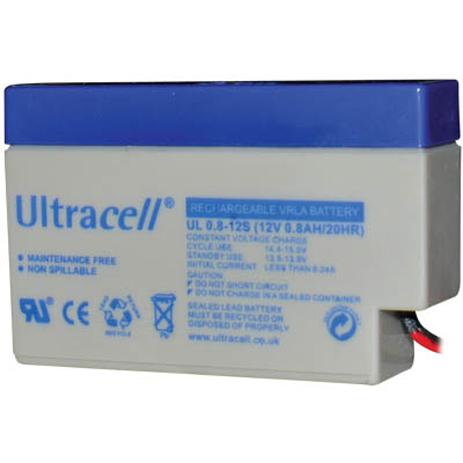 Μπαταρία μολύβδου Ultracell 12V 0.8Ah hlektrikes syskeyes texnologia hlektrologikos ejoplismos mpataries