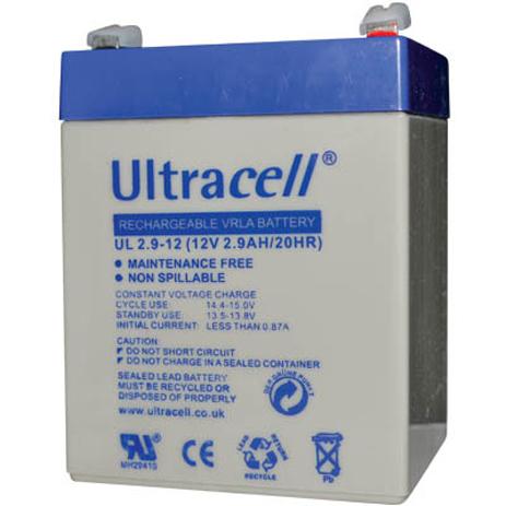 Μπαταρία μολύβδου Ultracell 12V 2.9Ah hlektrikes syskeyes texnologia hlektrologikos ejoplismos mpataries