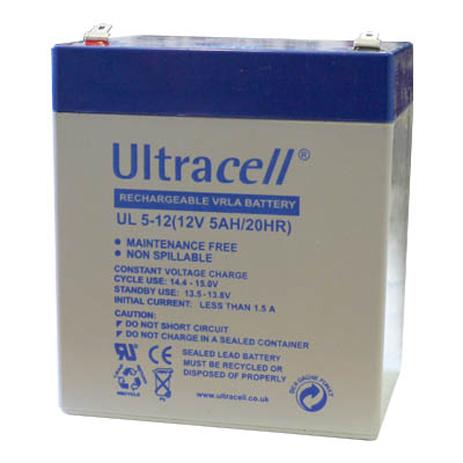 Μπαταρία μολύβδου Ultracell 12V 5Ah (9x7x11) hlektrikes syskeyes texnologia hlektrologikos ejoplismos mpataries