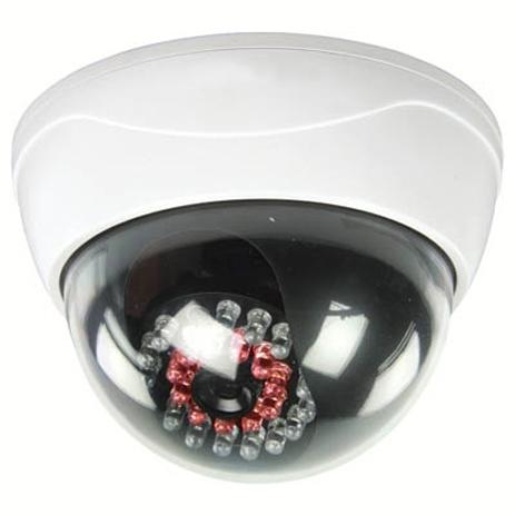 Ομοίωμα κάμερας Security με IR LED Konig Sas-Dummy Cam 95 hlektrikes syskeyes texnologia systhmata asfaleias syskeyes dummy