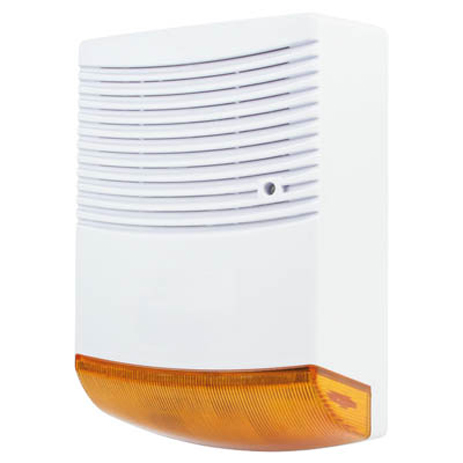 Ομοίωμα σειρήνας Security με LED Konig Sas-Dummy FL 20 hlektrikes syskeyes texnologia systhmata asfaleias syskeyes dummy