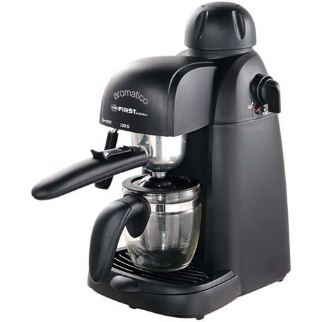 Μηχανή Espresso First FA-5475, 800w hlektrikes syskeyes texnologia oikiakes syskeyes kafetieres