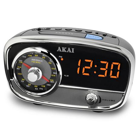 Ράδιο-Ρολόι Akai CE1401 hlektrikes syskeyes texnologia eikona hxos radiocdhi fi