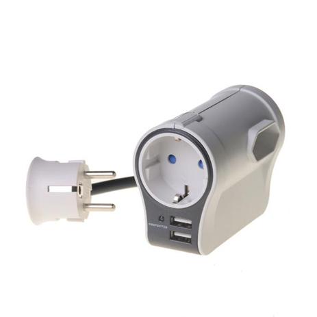 Πολύπριζο με Προστασία Υπέρτασης Telco S9P320 Nvuo ergaleia kataskeyes hlektrologikos ejoplismos polypriza