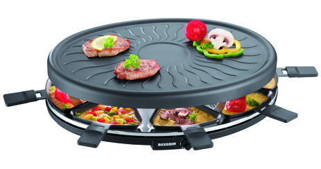 Ρακλέτα Severin Party Grill RG 2681, (1100w)