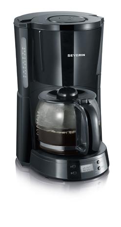 Καφετιέρα Severin Select KA 4191, Μαύρη (1000w) hlektrikes syskeyes texnologia oikiakes syskeyes kafetieres