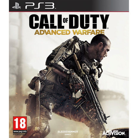 Call Of Duty Advanced Warfare - PS3 Game gaming games paixnidia ps3