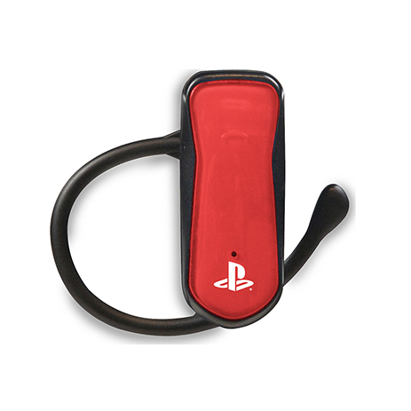 PS3 Bluetooth Headset 4Gamers CP-BT01 Red gaming perifereiaka gaming ps3 akoystika