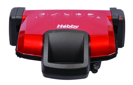 Τοστιέρα Hobby TS 440 Spicy Red