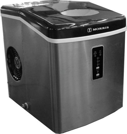 Παγομηχανή Morris DIM-12145 12Kg hlektrikes syskeyes texnologia oikiakes syskeyes mikrosyskeyes