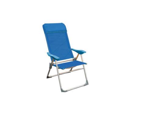 Velco Πολυθρόνα Αλουμινίου με Text (151-9716) khpos outdoor camping epoxiaka camping karekles paralias