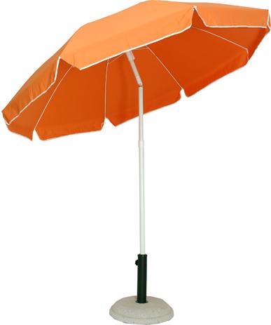 Velco Ομπρέλα Βεράντας-Κήπου 2m, Χρώμα Πορτοκαλί (372-6594) khpos outdoor camping khpos beranta epipla khpoy