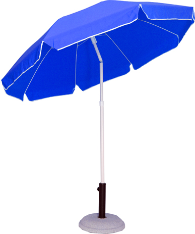 Velco Ομπρέλα Βεράντας-Κήπου 2m, Χρώμα Μπλε (372-6594) khpos outdoor camping khpos beranta epipla khpoy