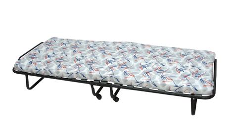 Velco Κρεβάτι Πτυσσόμενο με Ρόδες & Στρώμα 190x80cm (29-24029)