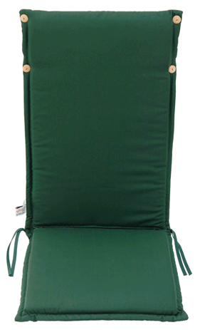 Velco Μαξιλάρι για Καρέκλα με Ψηλή Πλάτη 2 Όψεων, Χρώμα Πράσινο (35-12793)