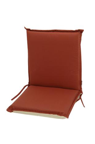 Velco Μαξιλάρι για Καρέκλα με Χαμηλή Πλάτη 2 Όψεων, Χρώμα Κόκκινο (35-12830) khpos outdoor camping khpos beranta ajesoyar